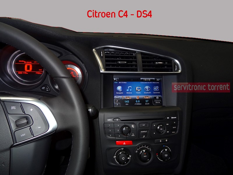 multimedia gps para citroen c4 ds4 citroen categoria. Black Bedroom Furniture Sets. Home Design Ideas