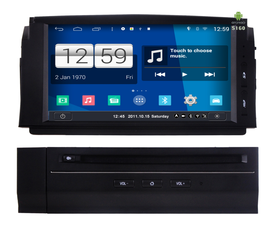 mercedes c w204 radio dvd gps android hd quad core mercedes benz. Black Bedroom Furniture Sets. Home Design Ideas
