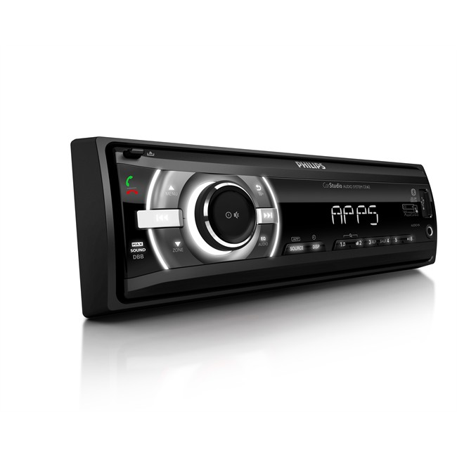 auto radio philips ce162 bluetooth appscontrol philips. Black Bedroom Furniture Sets. Home Design Ideas