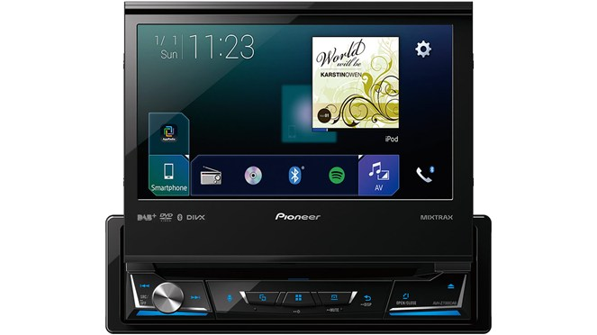 pioneer avh z7000dab 1 din con carplay android auto gps. Black Bedroom Furniture Sets. Home Design Ideas