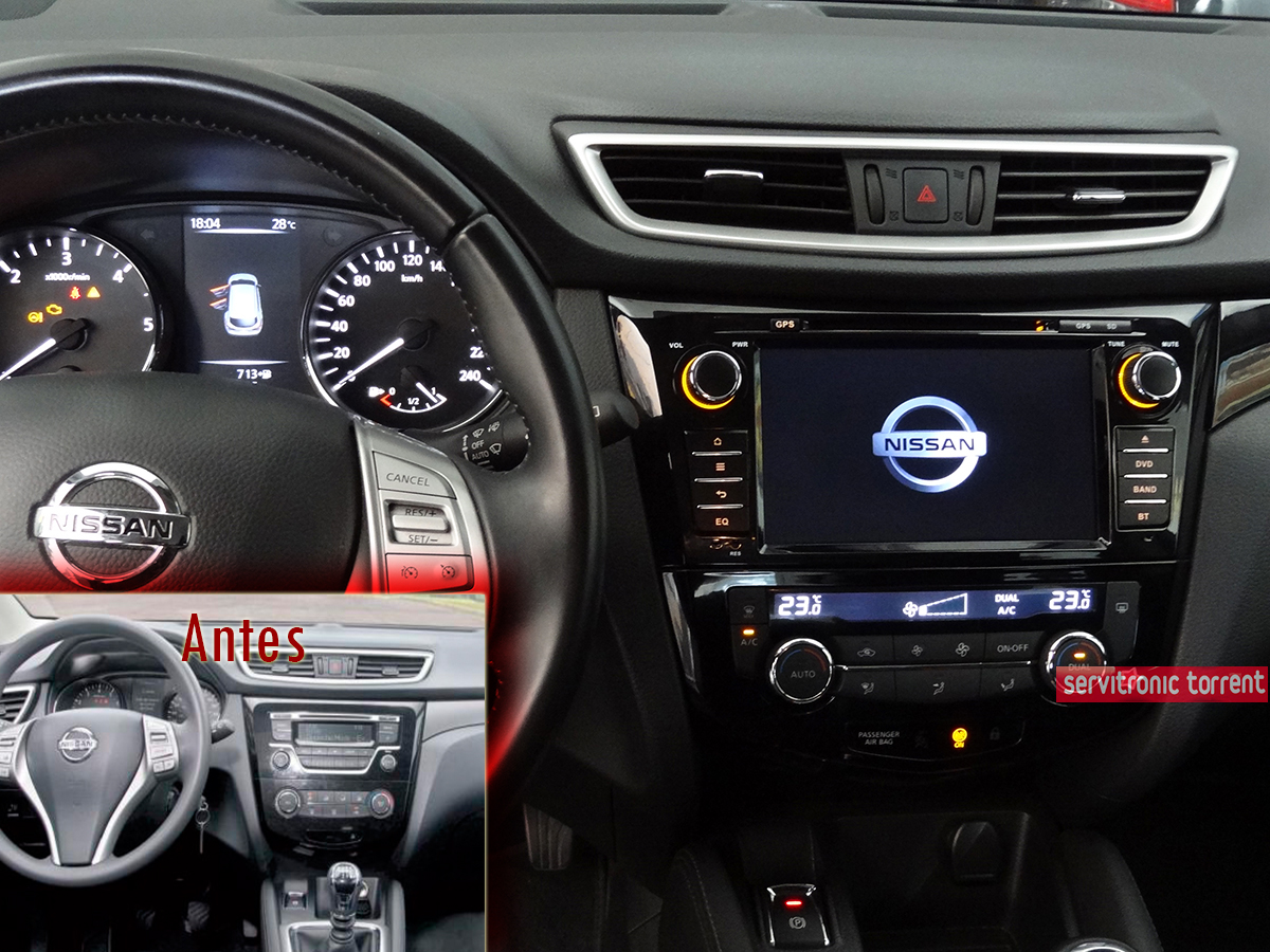 nissan qashqai xtrail radio dvd gps android hd quad core nissan. Black Bedroom Furniture Sets. Home Design Ideas
