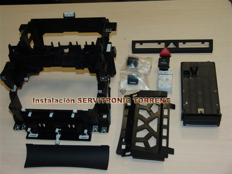 Kit conversi n 2 din audi a3 8p audi for Mueble 2 din audi a3