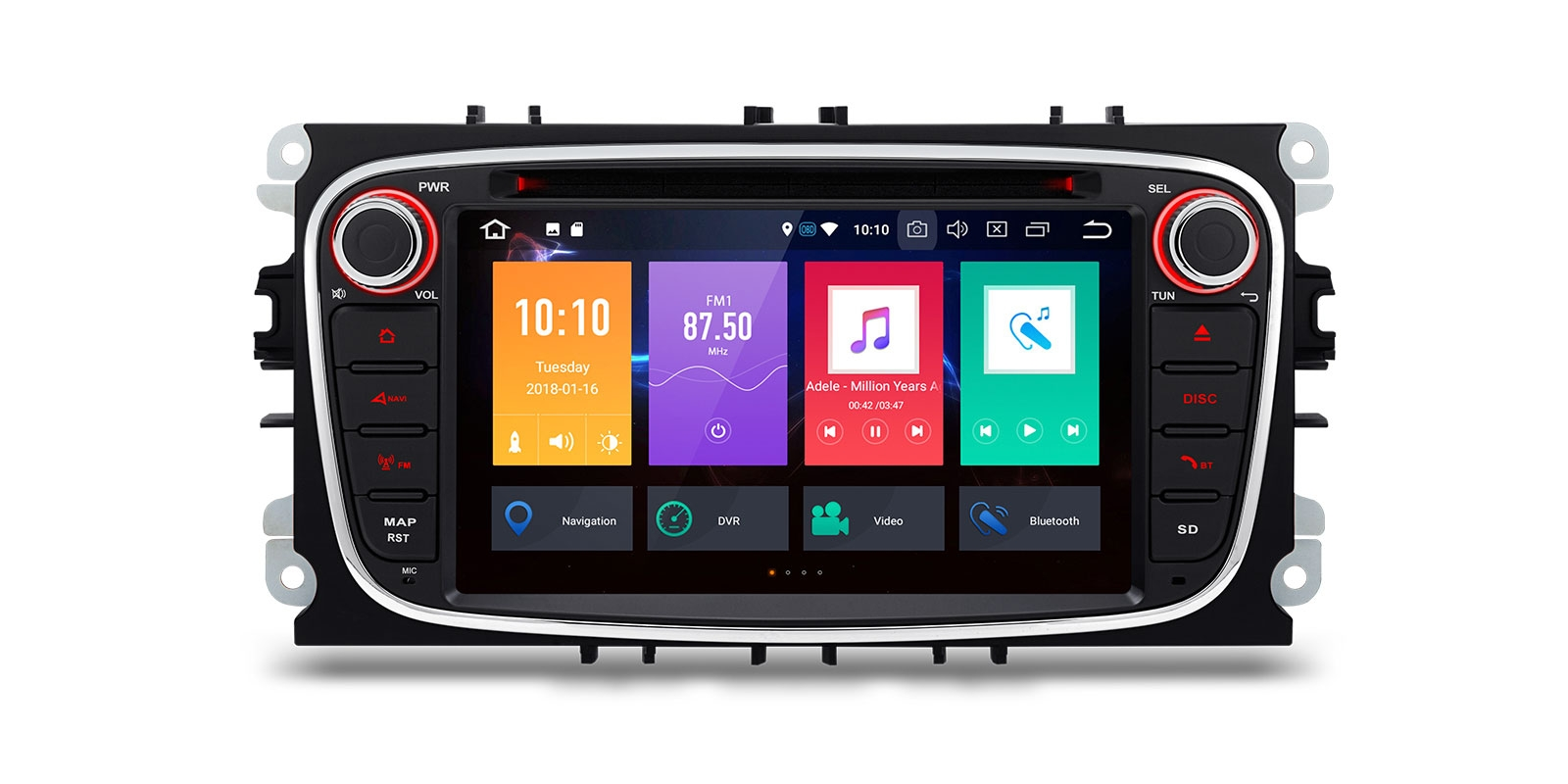 ford android radio dvd gps android wifi ford. Black Bedroom Furniture Sets. Home Design Ideas