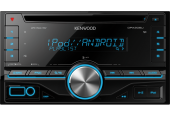 Kenwood DPX206 Receptor CD 2DIN USB AUX 2 pre-out