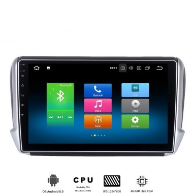 GPS multimedia PEUGEOT 208 / 2008 Android