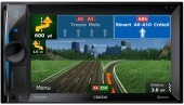 Clarion NX302E Multimedia 2Din GPS 3D control ipod - iphone