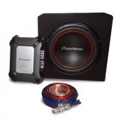 CONJUNTO PIONEER: Etapa GM-A3602 + Subwoofer TS-W304R +cables