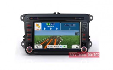 GPS Multimedia SEAT,VW,SKODA 2Din USB,SD,BT