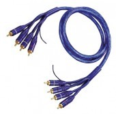 Cable RCA 5 m twisted (4 RCA a 4 RCA)