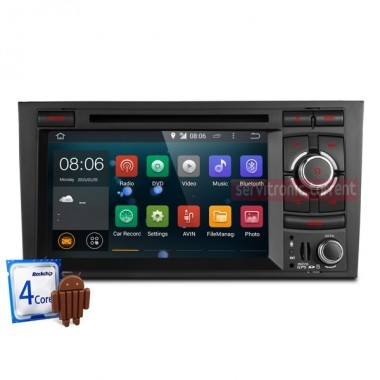 Android Audi A4, Seat Exeo - Quad Core, WI-FI , GPS