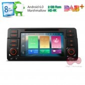 Android BMW 3 E46 WiFI, Octa Core , WI-FI , GPS