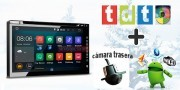 Android multimedia GPS 2 din, WiFi, QuadCore + Mini Camara + TDT