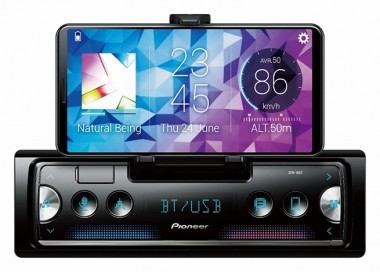 Pioneer SPH-10BTS conecta a dispositivos iPhone y Android *