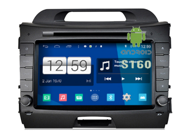 Kia Sportage - Radio DVD GPS Android HD QUAD CORE