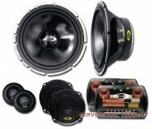 "Kipus Pro-6.3 Altavoces 6,5""+ Medio 3,5"" Tweeter 450 Watt."