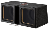 MTX audio SLH12x2SU Cajon Doble para altavoces de 12""