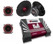 Pack Altavoces MTX + Amplificador VISONIK