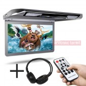 "Pantalla Techo 13,3"" HD USB SD HDMI + auricular de Regalo"