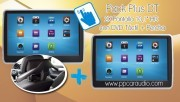 "Pack Plus DT 2X Pantalla 10,1"" HD con DVD Táctil + Percha"