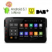 Android  VW, Seat, Skoda - Lollipop 5.1 Quad Core, WI-FI