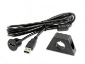 Cable soporte USB prolongador 2 metros
