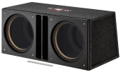 MTX audio SLH12x2U Cajon Doble para altavoces de 12""