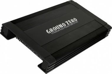 Ground Zero GZTA 4125 x-b Amplificador 4 canales 640 Watt.
